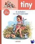Haag, Gijs, Marlier, Marcel, Hillen, Jenny - Tiny leren lezen AVI 1: Tiny - 4 Verhalen voor beginnende lezers (roze) AVI 1 - M3