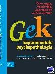 Jansen, A., Merckelbach, H.L.J.G. - Gek, Experimentele psychopathologie