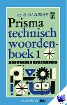 Damerau, H. - Vantoen.nu Prisma technisch woordenboek 1 - POD editie