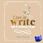 Poolen, Wilma - Love to write!