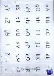 Schweitzer, Henk - Schrijven leer je zo! Letterkaart 4 - set van 5 ex