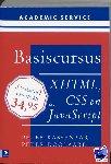 Kassenaar, Peter, Doolaard, P. - Basiscursussen Basiscursus XHTML, CSS en Javascript - POD editie