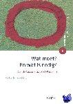 Willemarck (red), Paul - Wat moet? En wat is nodig?