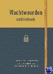 - Notitieboek - Wachtwoorden (geel)