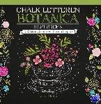 - Chalk letteren Botanica kleurboek