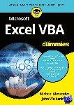 Alexander, Michael, Walkenbach, John - Microsoft Excel VBA voor Dummies