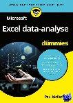 McFedries, Paul - Microsoft Excel data-analyse voor Dummies