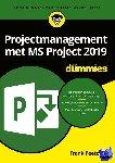 Peetoom, Frank - Projectmanagement met MS Project 2019 voor Dummies