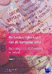 Vleuten, Anna van der - De bestuurlijke kaart van de Europese Unie
