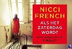 French, Nicci - Als het zaterdag wordt