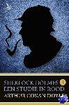 Doyle, Arthur Conan - Sherlock Holmes 1 - Een studie in Rood - POD editie