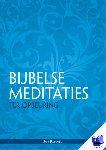 Bommel, Jan - Bijbelse meditaties ter opbeuring