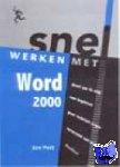 Pott, Jan - Snel werken met Word 2000