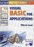 Groot, Wim de - VBA Visual Basic voor Applications - POD editie