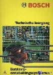 Berg, J. van den - Technische leergang Bosch batterij-ontstekingssystemen