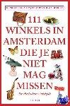 Klautz, Henriette - 111 Winkels in Amsterdam die je niet mag missen