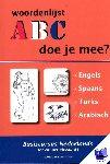 Knaap, R. van der - woordenlijsten - POD editie