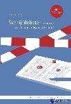 Dhont, Jantien - Schrijfdelicten - POD editie