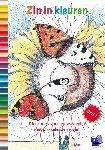 Wel, Marja van 't - Zin in kleuren; deel 1  Het mooiste kleurboek voor volwassenen met prikkelende vragen