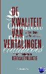 Segers, Winibert, Egdom, Gijs-Walt van - De kwaliteit van vertalingen