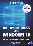 Smit, Ronald - 101 tips en trucs voor windows 10